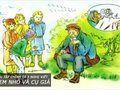 Giải bài tập chính tả 3 Nghe viết Các em nhỏ và cụ già