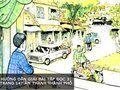 Hướng dẫn giải bài Tập đọc 3: Trang 147 Âm thanh thành phố