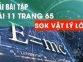 Hướng dẫn giải bài 11 trang 65 sgk Vật Lý lớp 10