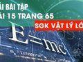 Hướng dẫn giải bài 15 trang 65 sgk Vật Lý lớp 10