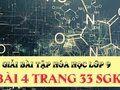 Bài 4 trang 33 SGK hóa lớp 9