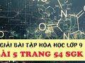 Bài 5 trang 54 SGK Hóa học 9