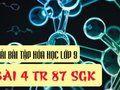 Bài 4 trang 87 SGK Hóa học 9
