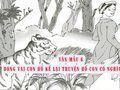 Đóng vai một con hổ kể lại truyện Con hổ có nghĩa