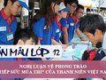 Nghị luận về phong trào tiếp sức mùa thi của thanh niên Việt Nam