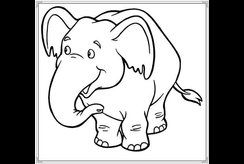 Các mẫu tranh tô màu con vật dễ thương cho bé phát triển tư duy