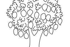 Top 12+ tranh tô màu cây xanh đơn giản nhất cho bé 3 tuổi