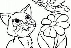 Đánh thức sự sáng tạo trong trẻ qua bộ tranh tô màu con mèo đáng yêu