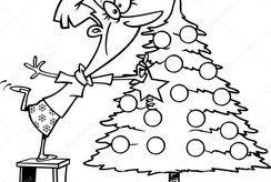 Top 5 tranh tô màu cây thông Noel làm quà cho bé dịp Giáng sinh