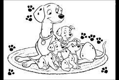 Những bức tranh tô màu con chó được bố mẹ tải về nhiều nhất