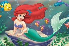 Bé thỏa sức sáng tạo nhờ bộ tranh tô màu nàng tiên cá đáng yêu