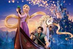Chọn lọc tranh tô màu công chúa tóc mây cho bé 4 tuổi