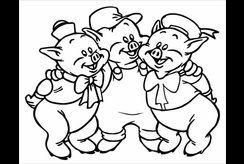 Mẹ dạy bé tập tô ở nhà với tuyển tập tranh tô màu con lợn đáng yêu