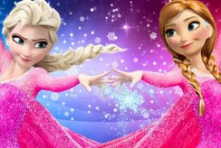 Tặng bé yêu top tranh tô màu Elsa và Anna dễ thương nhất