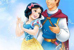 Tuyển tập tranh tô màu Bạch Tuyết và hoàng tử cho bé yêu