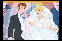 BST tranh tô màu công chúa lọ lem và hoàng tử khiến bé thích mê