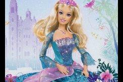 Download ngay bộ tranh tô màu công chúa Barbie cho bé gái