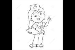 Tuyển tập 10 tranh tô màu bác sĩ hấp dẫn cho các con