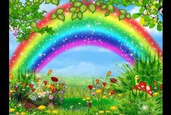 Top tranh tô màu cầu vồng chọn lọc để bé khám phá thế giới thiên nhiên kỳ diệu