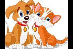 Cho bé yêu động vật trổ tài với tranh tô màu chó mèo ngộ nghĩnh