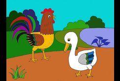 Chọn lọc tranh tô màu con gà con vịt dễ thương cho bé yêu