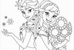 Mẹ tải trọn bộ và in tranh tô màu cho bé gái thích mê
