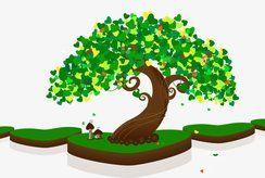 In bộ tranh cây xanh cho trẻ tô màu và thêm yêu thiên nhiên
