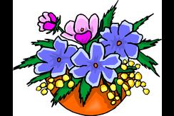 Sưu tập tranh tô màu cho bé 5 tuổi chủ đề hoa đẹp