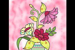 Tuyển chọn 15 tranh tô màu cây và hoa cho bé khéo tay hay vẽ