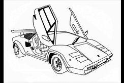 Chọn lọc 15 tranh tô màu ô tô độc đáo cho bé trai