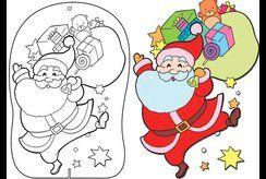 Trọn bộ tranh tô màu giáng sinh tuyệt đẹp dành tặng các bé