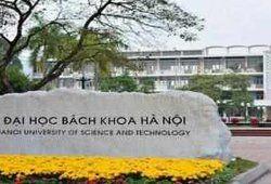 Điểm chuẩn trường đại học Bách khoa Hà Nội năm 2019