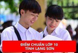 Điểm chuẩn lớp 10 tỉnh Lạng Sơn năm 2020
