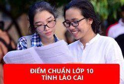Điểm chuẩn vào lớp 10 tỉnh Lào Cai 2020 - 2021