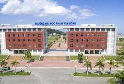 Điểm chuẩn trường Đại học Phạm Văn Đồng năm 2019
