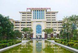 Điểm chuẩn trường Đại học Kinh doanh và Công nghệ Hà Nội năm 2019