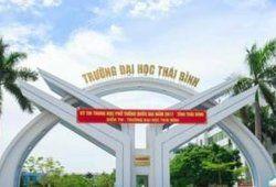 Điểm chuẩn trường Đại học Thái Bình năm học 2019/2020