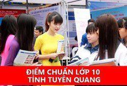 Điểm chuẩn vào lớp 10 tỉnh Tuyên Quang 2018/2019