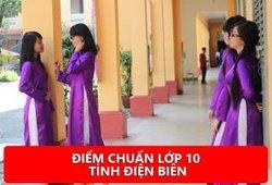 Tra cứu điểm chuẩn lớp 10 tỉnh Điện Biên 2018/2019