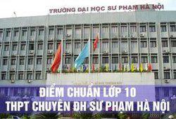 Điểm chuẩn lớp 10 THPT chuyên Sư phạm Hà Nội 2018 - 2019