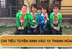 Chỉ tiêu tuyển sinh vào lớp 10 năm 2019 tại Thanh Hóa
