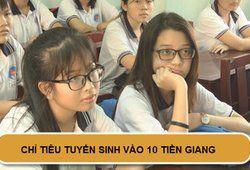 Chỉ tiêu tuyển sinh vào lớp 10 năm 2019 tại Tiền Giang
