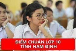 Điểm chuẩn lớp 10 tỉnh Nam Định năm 2019