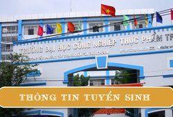 Đại học Công nghiệp thực phẩm TP.HCM tuyển sinh 2020