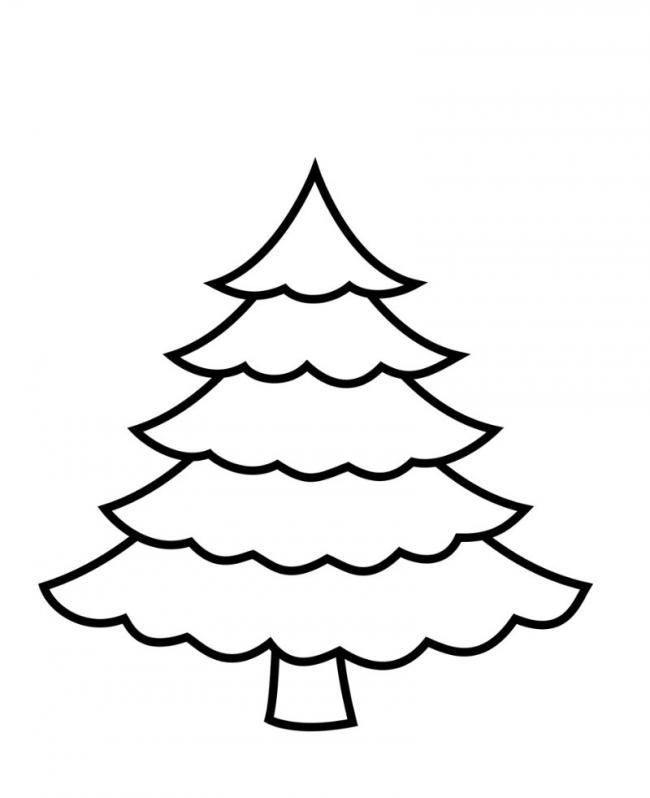 Hìnhtô màu cây thông Noel