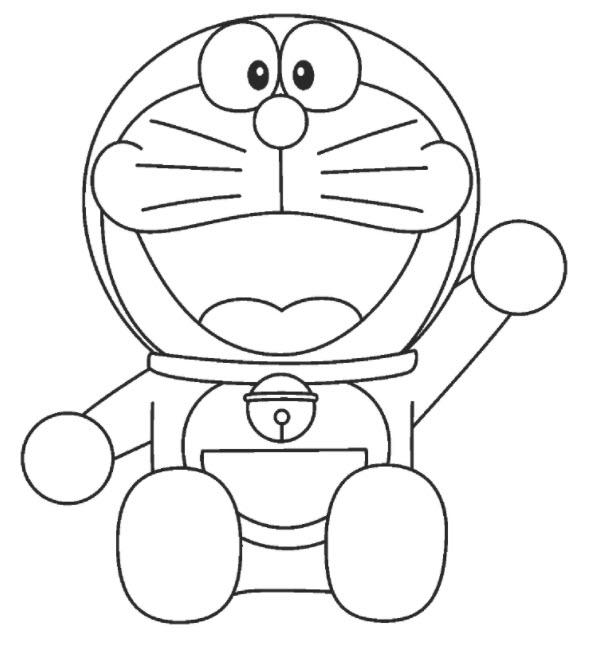 chú mèo máy Doremon vô cùng quen thuộc