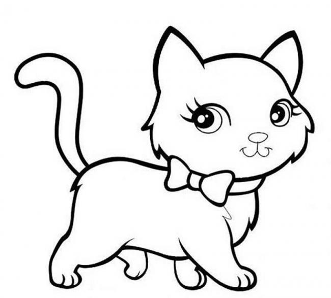 Cô mèo xinh