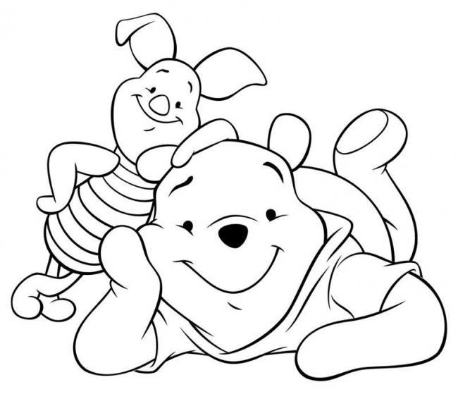 tranh tô màu nhân vật hoạt hình cho bé gái