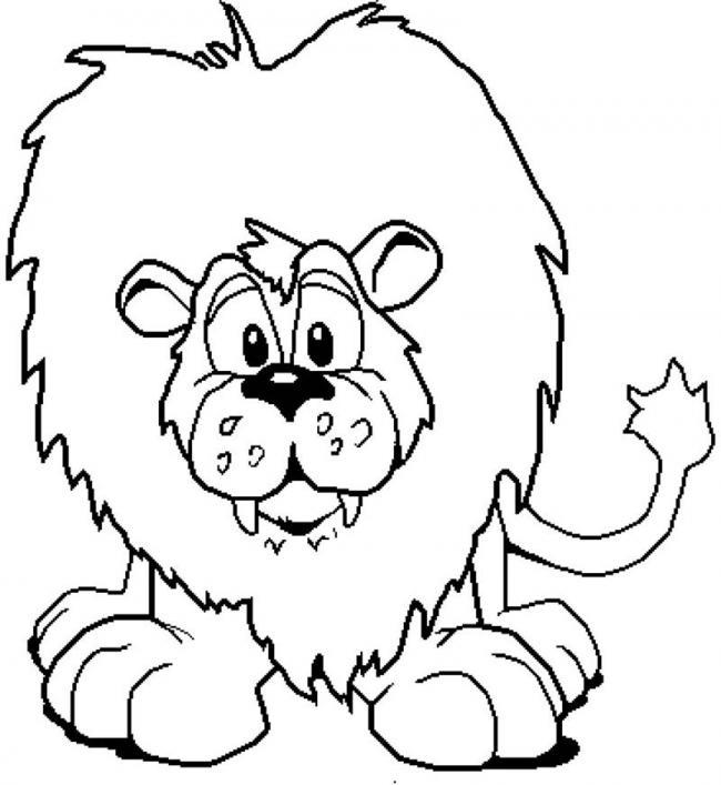Chú sư tử ngơ ngác chuyện gì vậy nhỉ