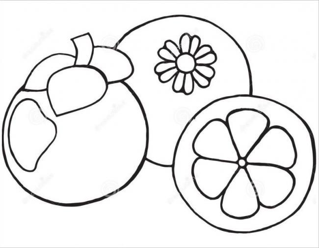 hình ảnh trái măng cụt rất tốt cho sức khỏe